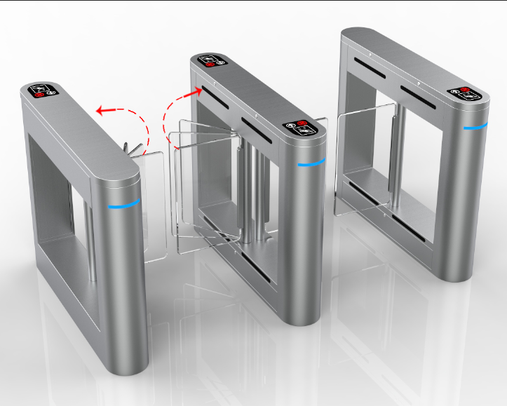 Bi-Directional Swing Barrier Security Gate