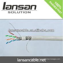 Lansan besten Preis stp cat6 lan Kabel BC 23awg Pass Fluke Test gute Qualität und Fabrik Preis