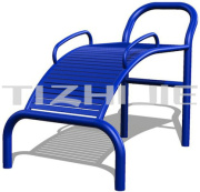 Hot Sale Outdoor Fitness Abdominal Equipment/Steel Outdoor Gym Equipment for Park/Outdoor Training Equipment Sit-Up Trainer