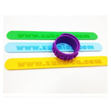 Custom Logo Silicone Presenter Fashion Band Cool Armband