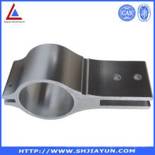6063 Tubes en aluminium anodisé avec trous de forage