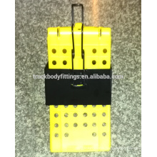 capacity 40t durable plastic wheel chock, wheel chock holder
