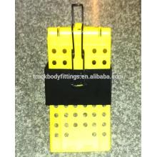 емкость 40т прочный пластиковый противооткатный упор, держатель противооткатного упора