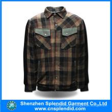 Guangdong Hersteller Custom Square Design Männer Jacke