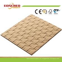 Preço barato gravado Hardboard / melamina Hardboard