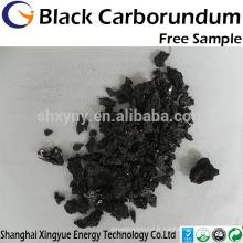 Carbure de silicium noir de haute pureté d'approvisionnement d'usine / prix concurrentiel de poudre de carbure de silicium