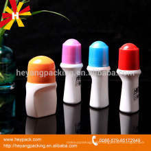 Abundant shape pp plastic deodorant roll on bottle