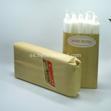 Fuente Factory Bulk White Stick Candles