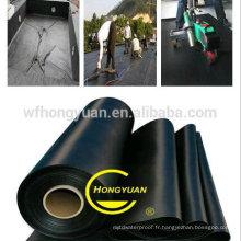 Feuille imperméable en caoutchouc anti -UV EPDM de haute qualité avec l'OIN