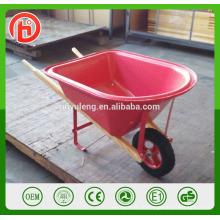 Wh0201 пластиковый лоток деревянная ручка Курган колеса игрушки для детей детские тачки
