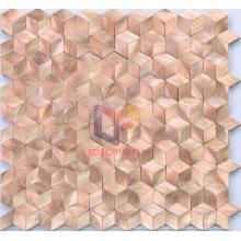 Featured Rhombic Aluminium Metal Mosaic (CFA44)