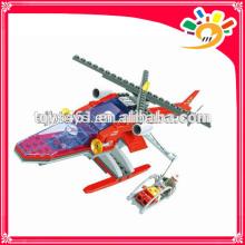 Kid Toy blocks 207 pieces plastic plane blocks toy