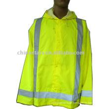 Storm Cover Warnung reflektierende Sicherheit Regenbekleidung