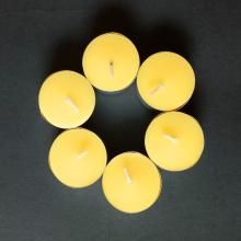 Reine natürliche organische handgemachte Bienenwachs-Tee-Licht-Kerzen