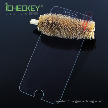 Tout neuf ! protecteur d'écran ultra mince 2.5D 9H de verre trempé ultra clair pour Iphone7