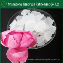 China fabricante industrial grau químico tratamento de água Flake / Alumínio sulfato de alumínio
