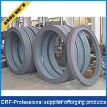 Forjamento do anel, aço de carbono, aço inoxidável, aço da liga