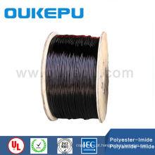 IEC H/200 graus CELSIUS graus poliéster e poliamida IMIDA duplo cabo isolado, cabo de cobre esmaltou para transformador