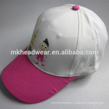 wholesale children six panels print baseball cap