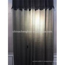 Gros rideau de tissu en chenille gros pour la maison