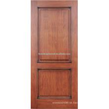 2-Panel Roteiche-Hartholz-Tür-design