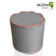 Оптовые ткани круглый мешок фасоль османской незаполненной фасоли мешок
