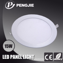 15W White LED Panel Light (Round)