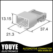 Invólucro do Sumecomo Automotive Connecor 6098-4902