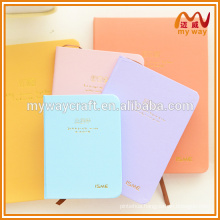 cutom hot stamping printing logo cover memo pad & notepad for office