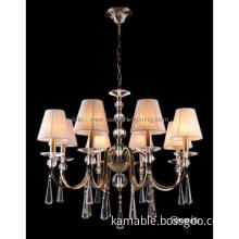 Beautiful chic crystal pendant chandelier drops light(CL 5464/8 AB+WT)