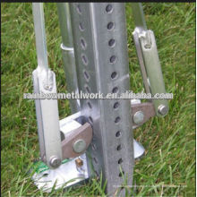 Traffic Square Sign Post, Perforated Steel Square Sign Posts