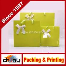 Saco de papel da arte / saco de papel branco (2213)
