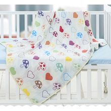 100% Bamboo Kids Blanket, Baby Swaddle Blanket