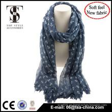 Muestra libre New llega el diseño mezclan la bufanda material de moda para la señora