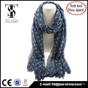 Free Sample New arrive design blend material fashionable scarf for lady