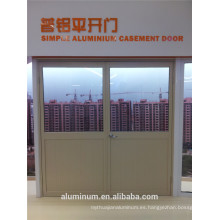 China Puerta abatible de aluminio