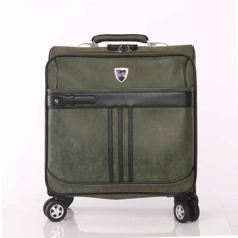 Airplane PU Luggage Bag