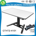 2015 auto height adjustable small size computer desk