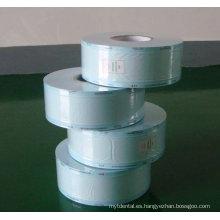 Termo sellado bolsas de rollo esterilizadas desechables para bastoncillo de algodón lavado