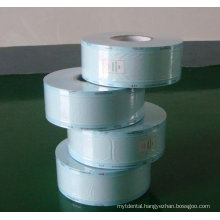 Heat sealing disposable sterilized roll pouchs for washed cotton stick