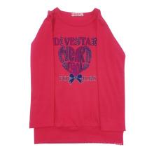 Spring Girl Kids T-Shirt for Children′s Wear