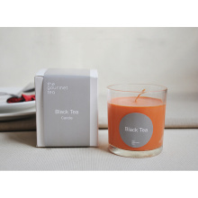 Personalized Luxury Scented Glass Candle with White Box