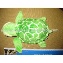 Plush stuffed tortoise