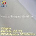 Polyester Cotton Poplin Lining Fabric for Shirt Textile (GLLML364)