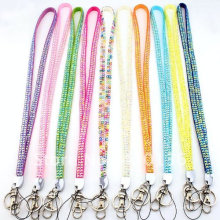 Legal Rhinestone Crystal Bling Badge Holder Key Lanyard