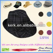LSF04 2014 Fábrica de baixo preço Moda Fedora fábrica para homens homens fábrica snapback chapéus