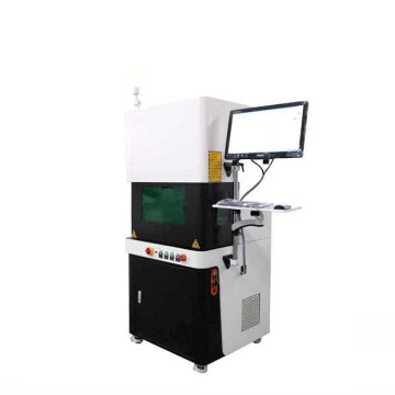 adjunto Raycus Laser Source 30w CNC Logo Fiber Laser Labeling Machine