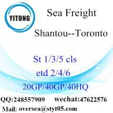 การขนส่งสินค้าทางทะเลในเมือง Shantou ไปโตรอนโต