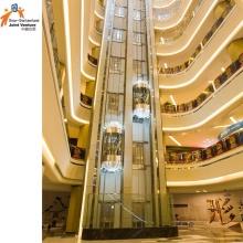 Отель Glass Современный Дизайн Лифт Лифт