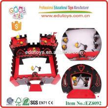 Juguete castillos para los niños de madera montar juguetes